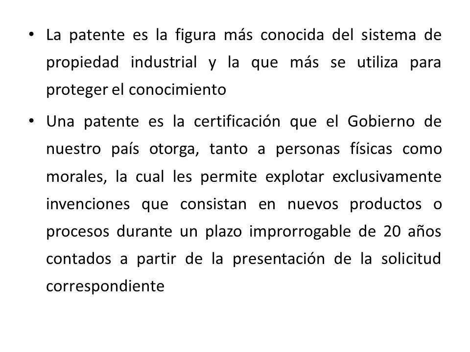 El Instituto Mexicano de la Propiedad Industrial (IMPI), es el Organismo Público Descentralizado que se encarga de la recepción, estudio y otorgamiento de patentes en nuestro país.