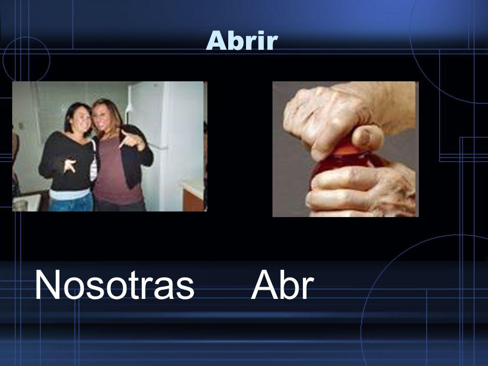 Abrir NosotrasAbr