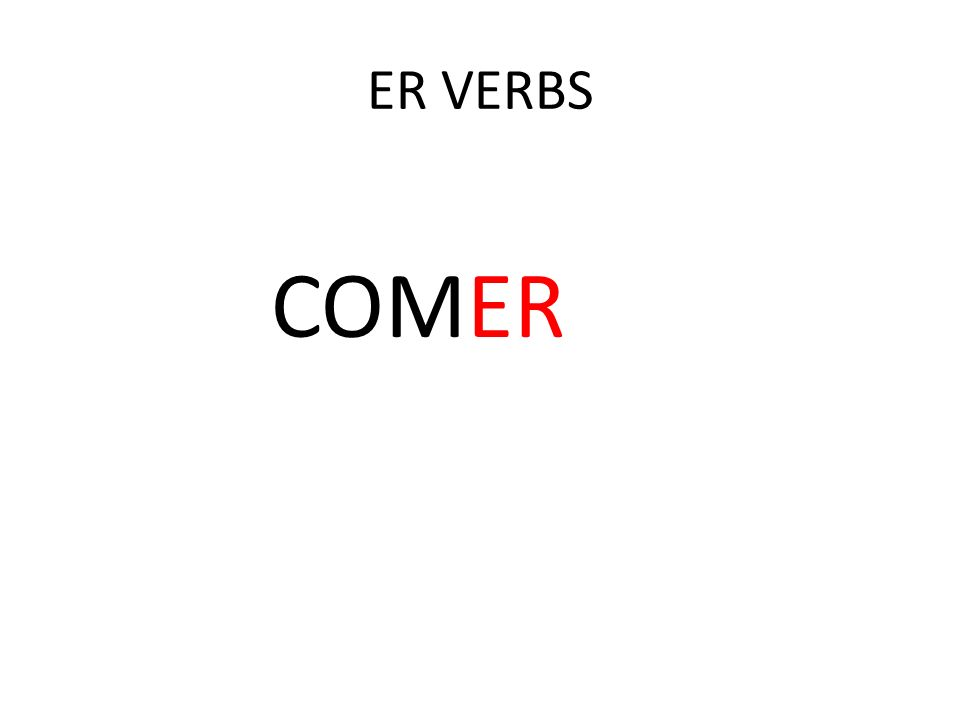 Complete the sentences with the appropriate forms of beber or comer.
