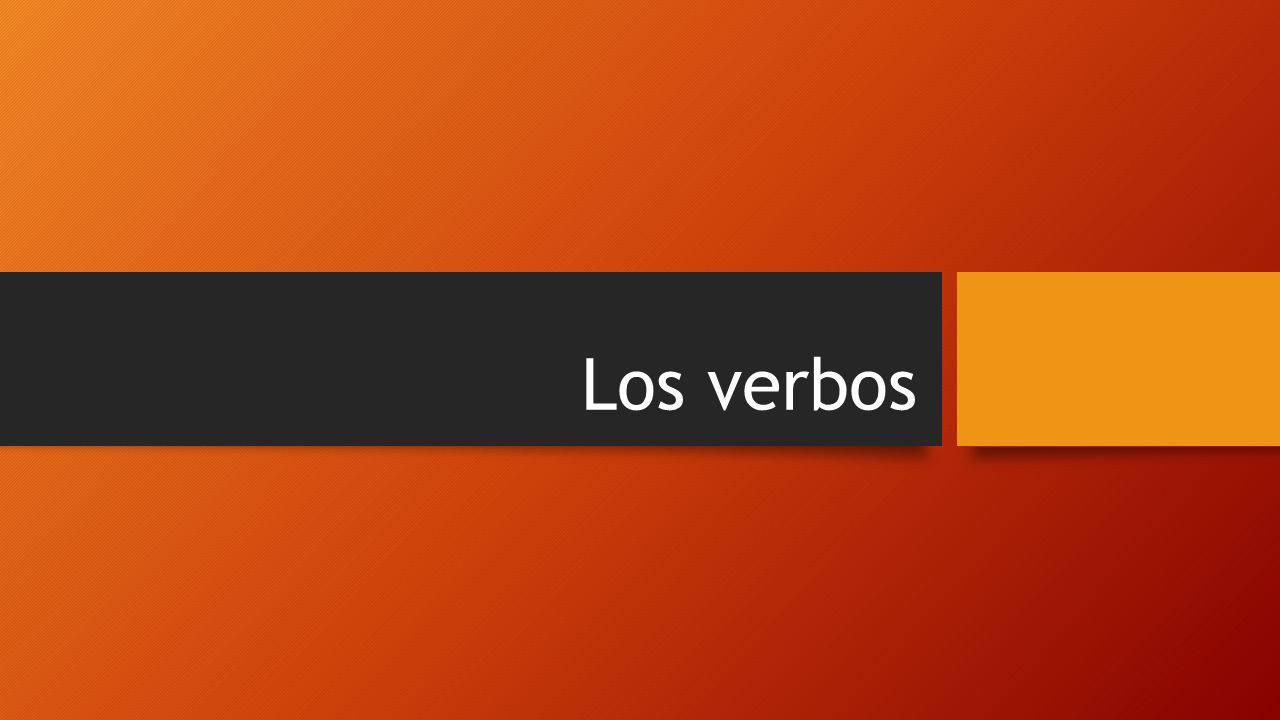 Instrucciones Take notes on the following information on conjugating verbs.