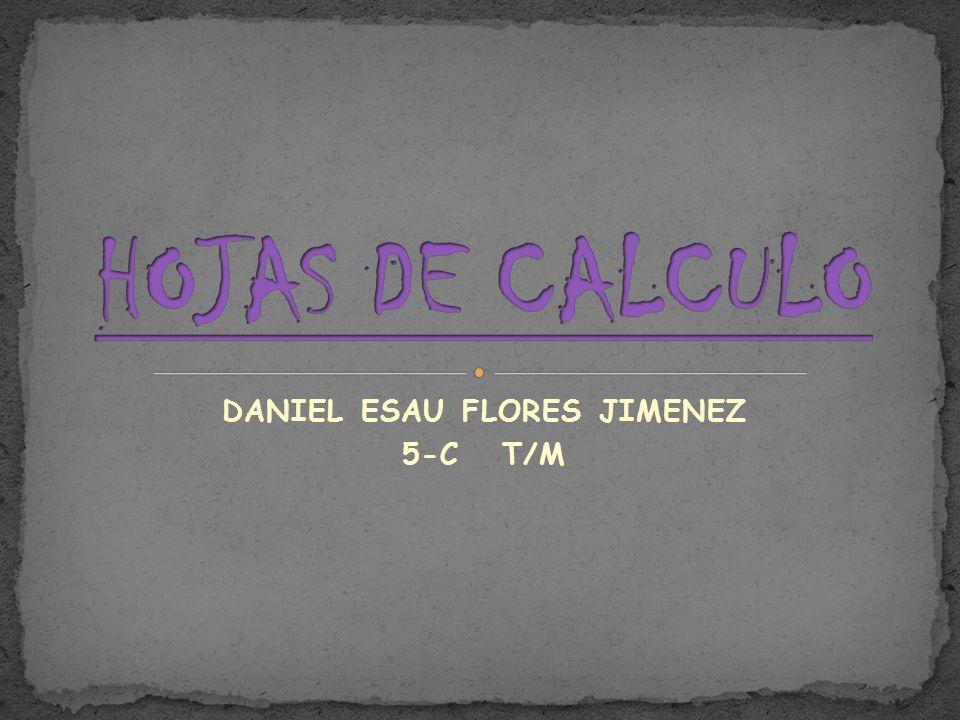 DANIEL ESAU FLORES JIMENEZ 5-C T/M