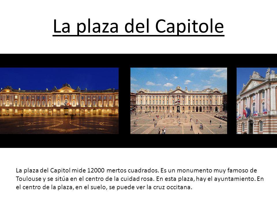 La plaza Wilson La plaza Wilson se sitúa en el centro de Toulouse, muy cerca de la plaza del Capitole.