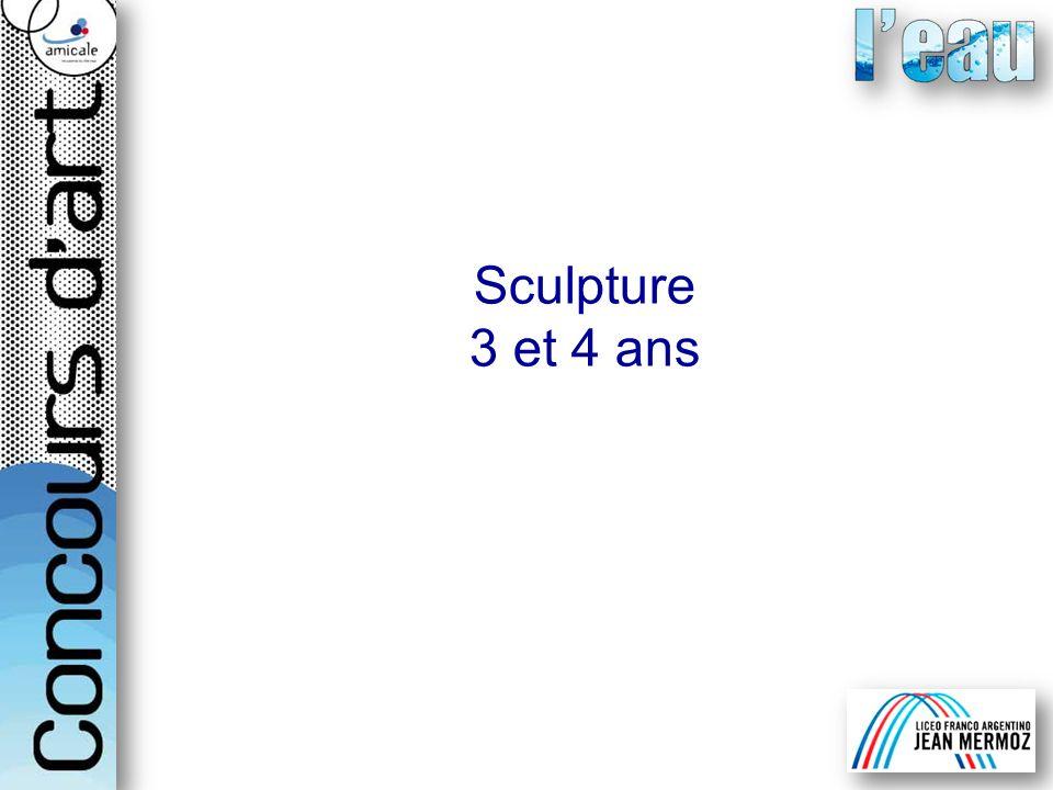 Sculpture 3 et 4 ans