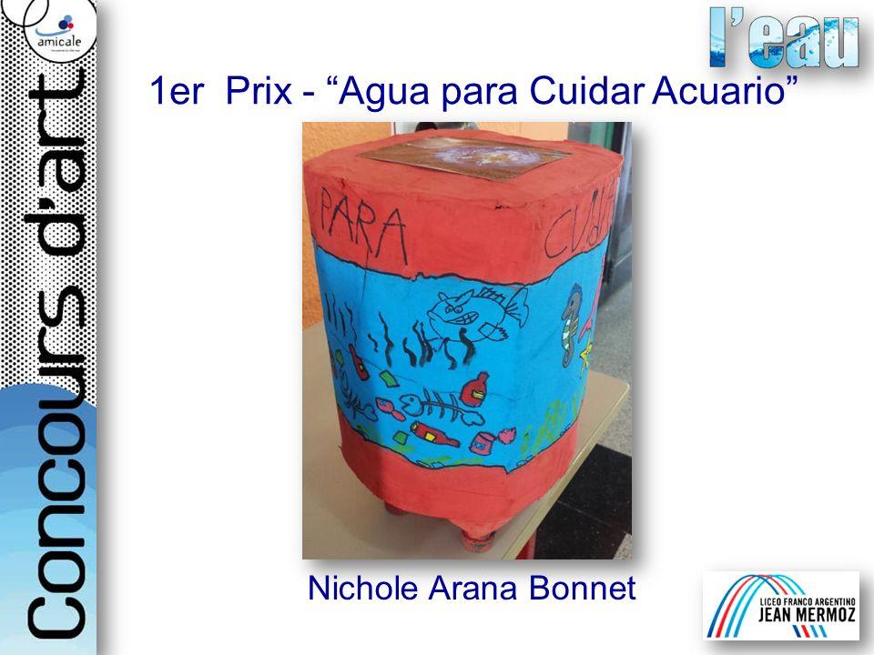 1er Prix - Agua para Cuidar Acuario Nichole Arana Bonnet