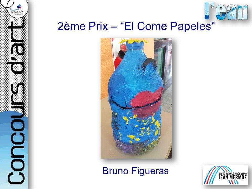 Bruno Figueras 2ème Prix – El Come Papeles