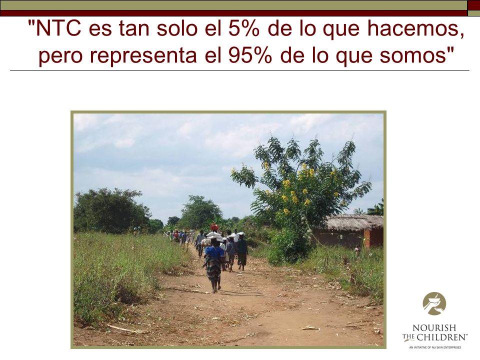 NTC es tan solo el 5% de lo que hacemos, pero representa el 95% de lo que somos