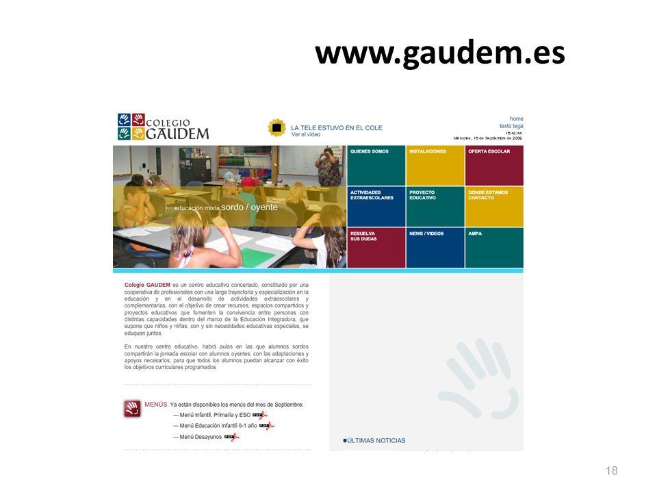 www.gaudem.es 18