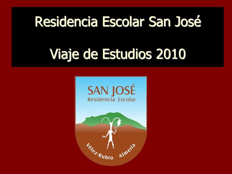 Residencia Escolar San José Viaje de Estudios 2010