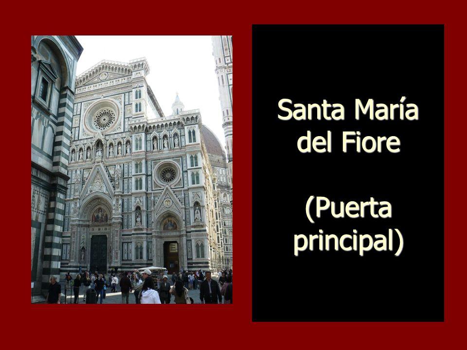 Campanario (Campanile) de la Catedral de Florencia (Santa María del Fiore)