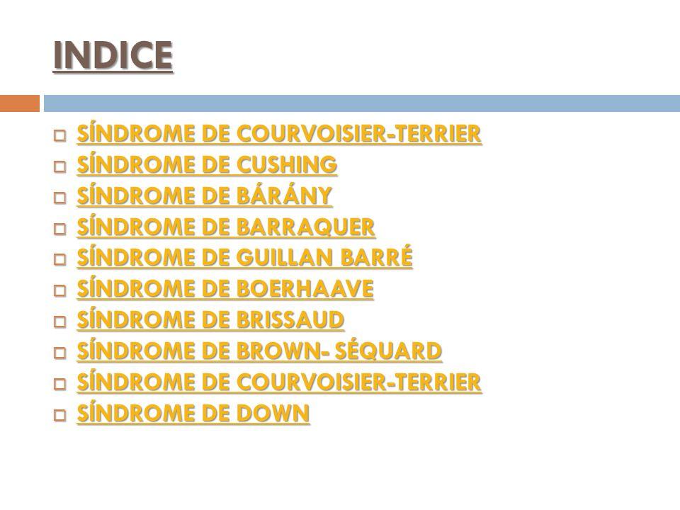 INDICE SÍNDROME DE COURVOISIER-TERRIER SÍNDROME DE COURVOISIER-TERRIER SÍNDROME DE COURVOISIER-TERRIER SÍNDROME DE COURVOISIER-TERRIER SÍNDROME DE CUS