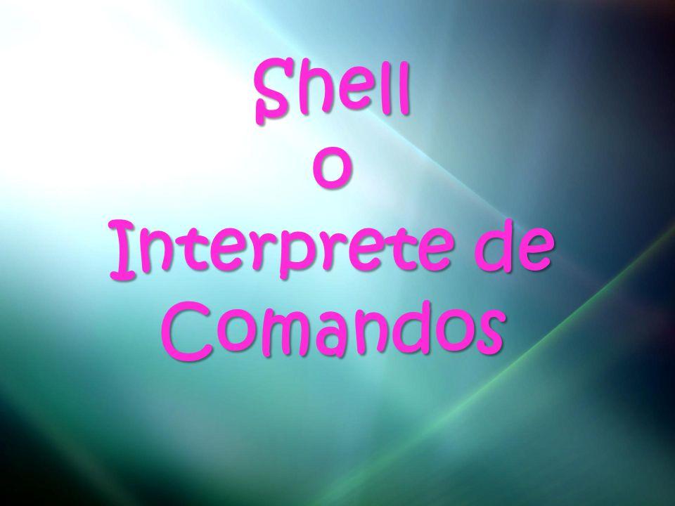 Shello Interprete de Comandos