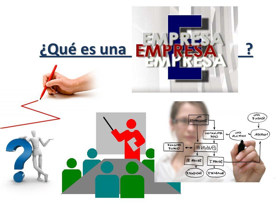 La empresa es: Es una organización integrada por elementos materiales, técnicos y humanos (Capital, maquinaria, locales, empleados, clientes, etc ) dedicada a actividades industriales, mercantiles o de prestación de servicios con el fin de obtener beneficios económicos