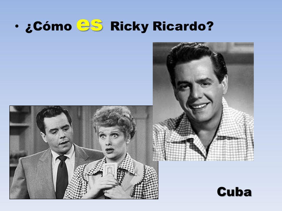 es ¿Cómo es Ricky Ricardo? Cuba