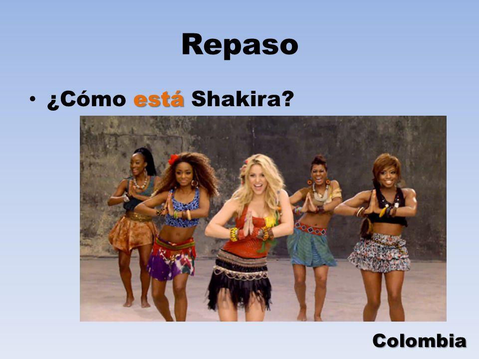 Repaso está ¿Cómo está Shakira? Colombia