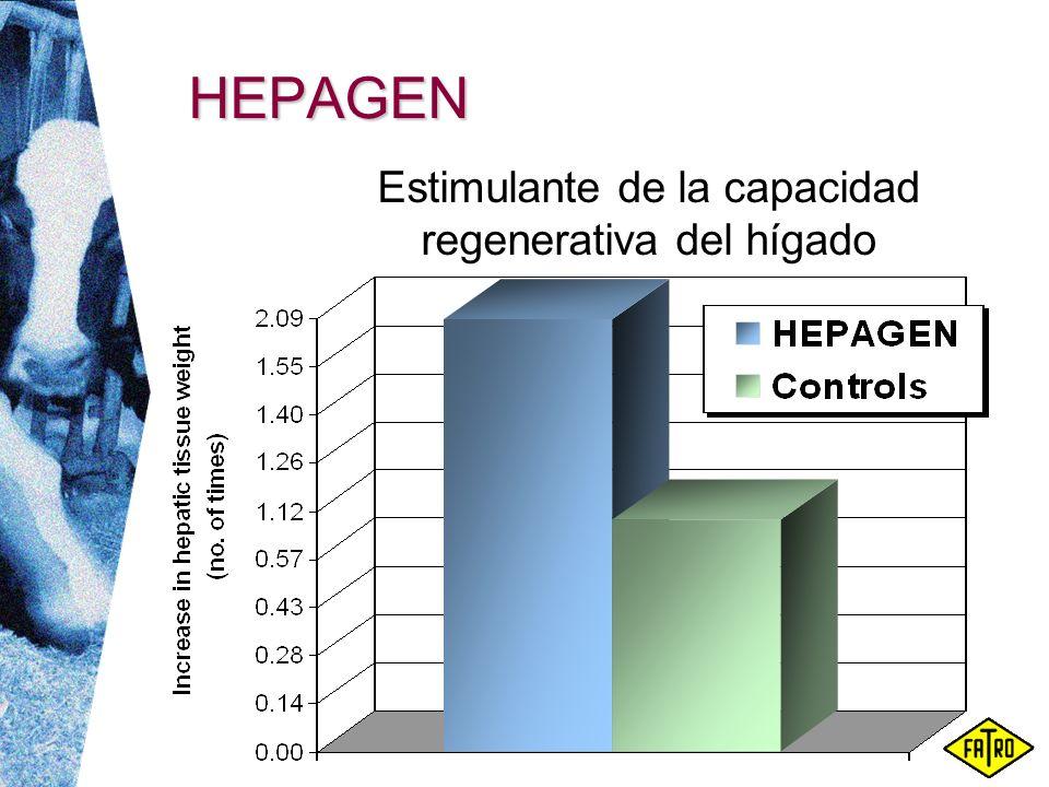 HEPAGEN Estimulante de la capacidad regenerativa del hígado