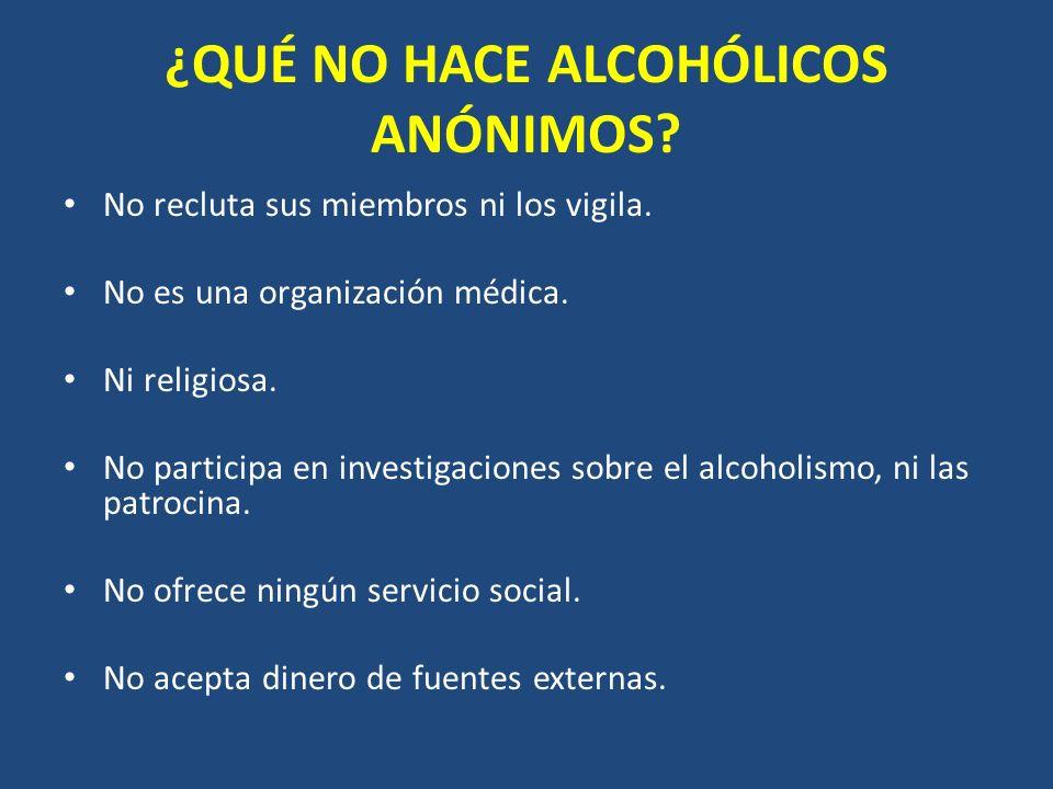 ¿POR QUÉ FUNCIONA ALCOHÓLICOS ANÓNIMOS? POR IDENTIDAD HABER PARTICIPADO EN UN PELIGRO COMÚN ES UNO DE LOS PODEROSOS ELEMENTOS QUE NOS UNEN. ENTONCES P