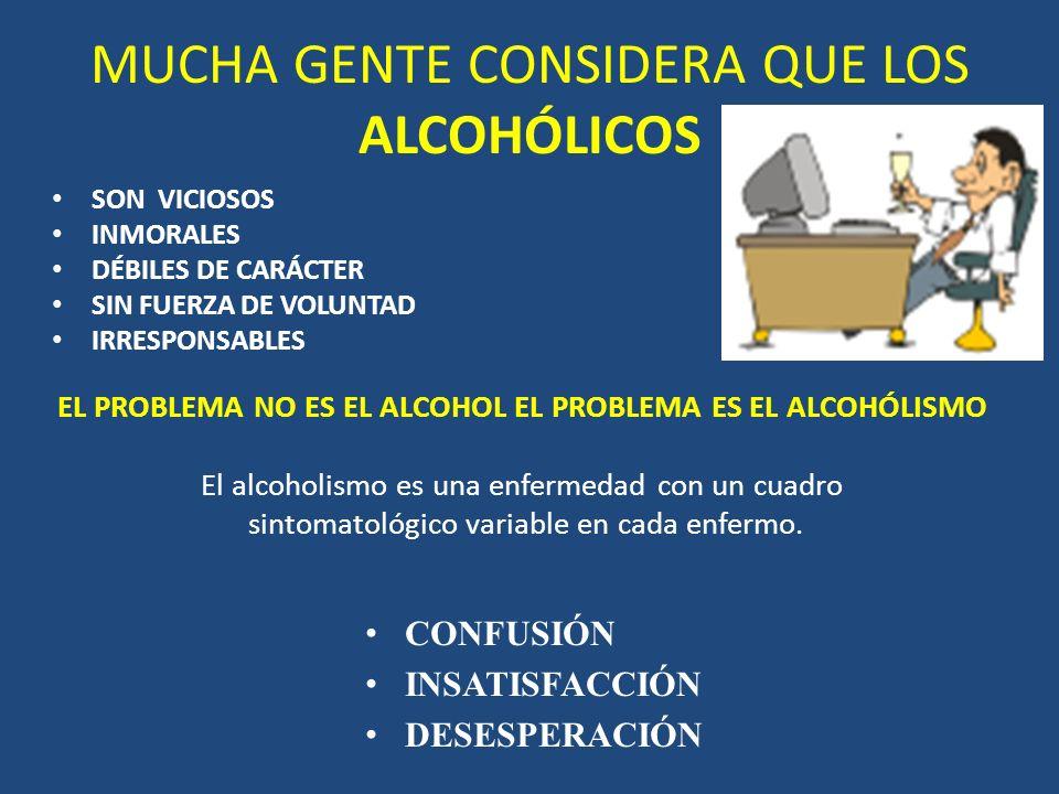 ¿POR QUÉ ES NECESARIO SABER SOBRE ALCOHOLISMO? Es un problema tan antiguo como la misma humanidad. No respeta sexo, edad, credo religioso, profesión,