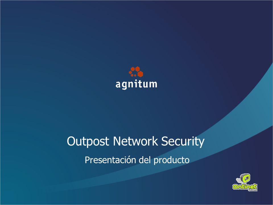Outpost Network Security Presentación del producto