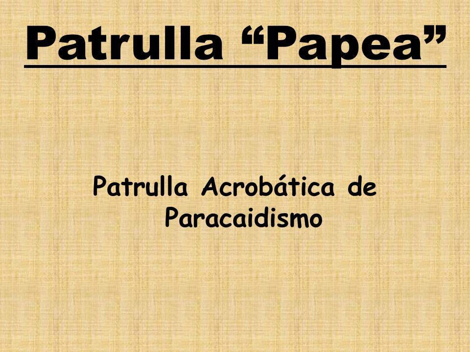 Patrulla Papea Patrulla Acrobática de Paracaidismo