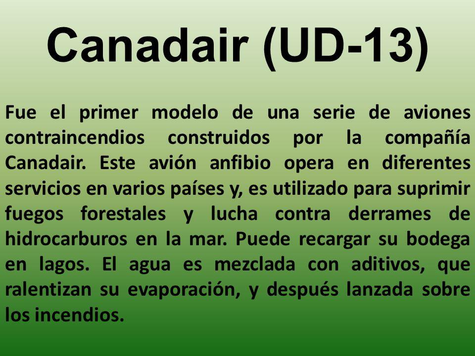 Canadair (UD-13) Fue el primer modelo de una serie de aviones contraincendios construidos por la compañía Canadair.