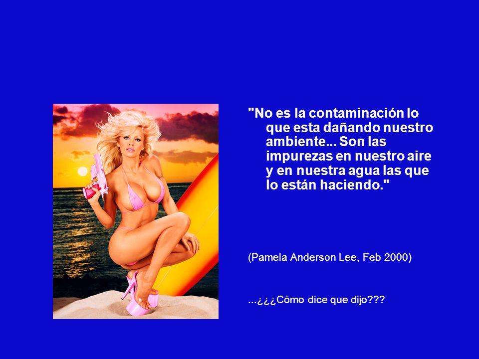 ¿A que personaje le gustaría conocer? Definitivamente me gustaría conocer a Lady Di...afortunadamente ya se murió... (Alexia Zambrano, candidata Miss Colombia 2002)...Sin palabras...