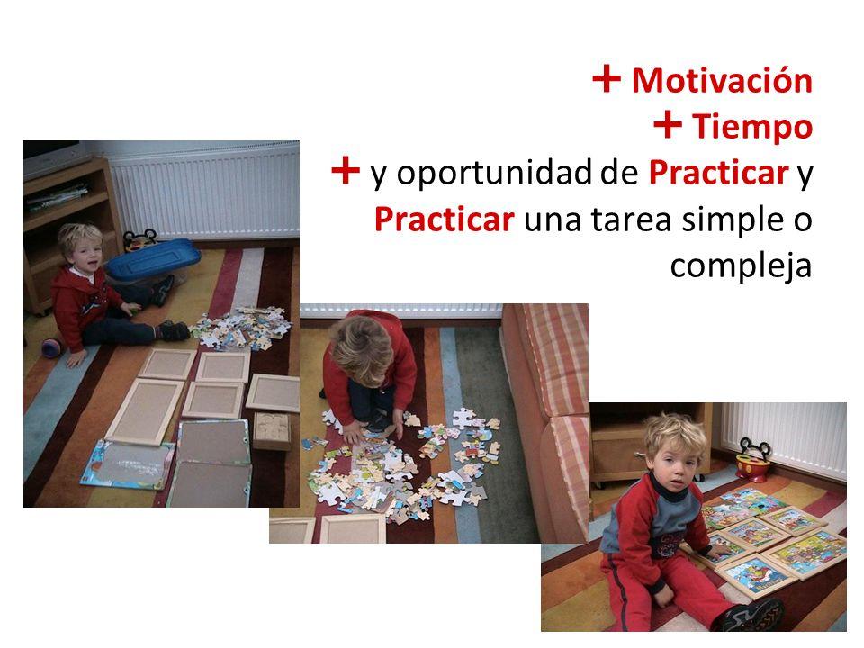 La práctica hace maestros
