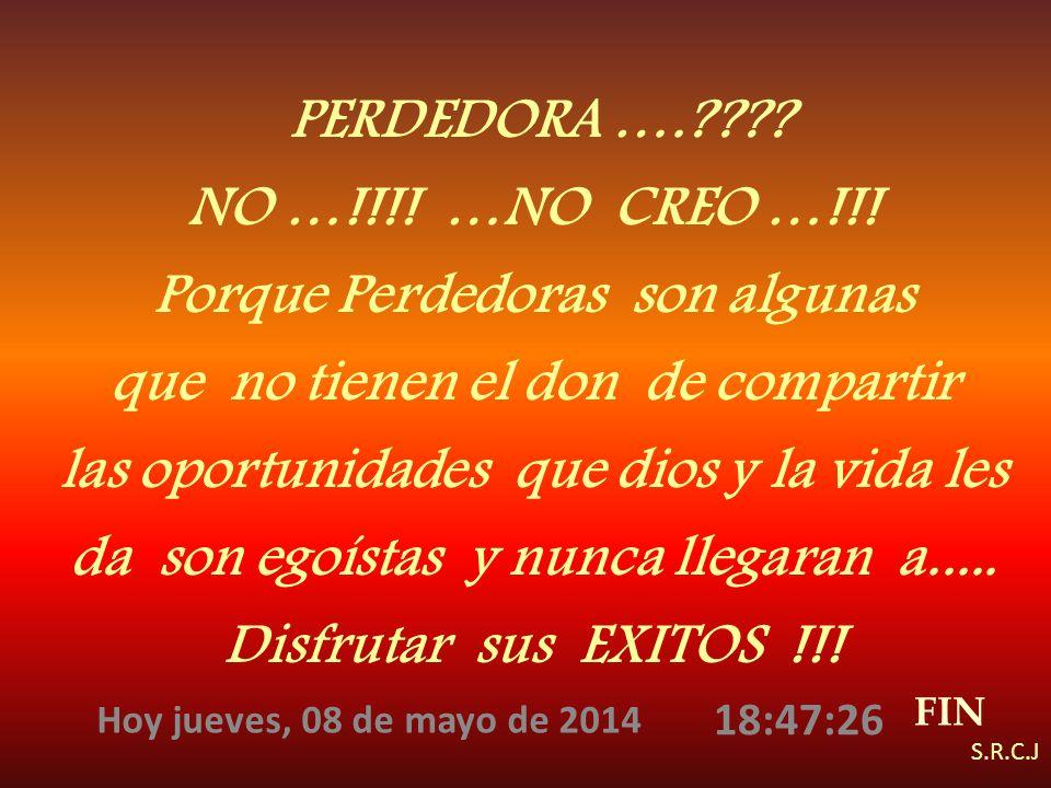 AHORA PODRIAS RESPONDERTE …… QUIEN ERES TU ? ……….. UNA TRIUNFADORA ….!!!!!! VERDAD ….? ?....CLARO QUE SIII…!! PORQUE TU COMPARTES Y AYUDAS A CADA PERS