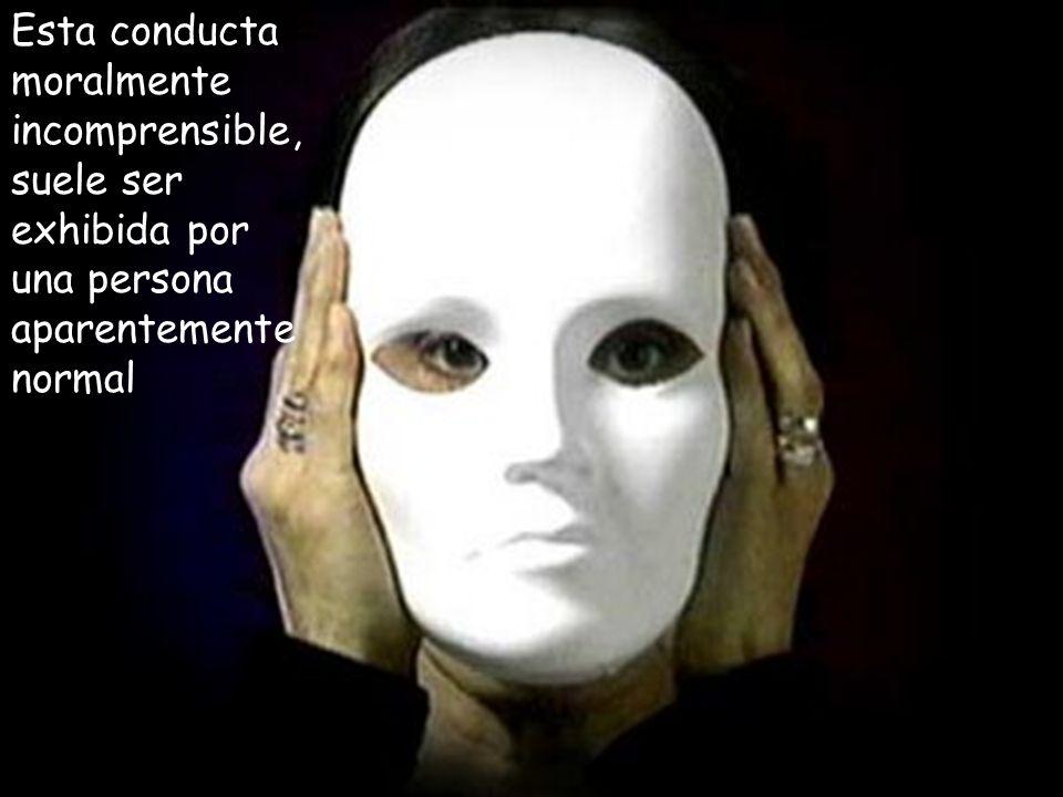 Como se ha mencionado anteriormente, los actos que realizan los psicópatas no son provocados por una mente desequilibrada, sino que son una decisión racional, calculada, combinada con una escalofriante incapacidad para tratar a los demás como seres humanos, dotados de pensamiento y sentimientos.