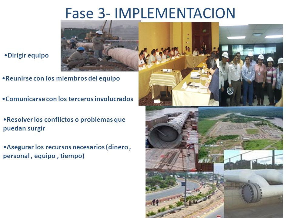 Presentación formal del proyecto Reunión post presentación de proyecto Cierre administrativo Documentación Fase 4- CIERRE