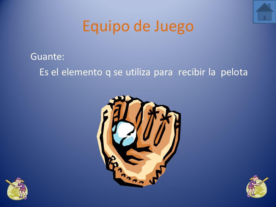 Bola: Es el elemento principal en el deporte de softball.