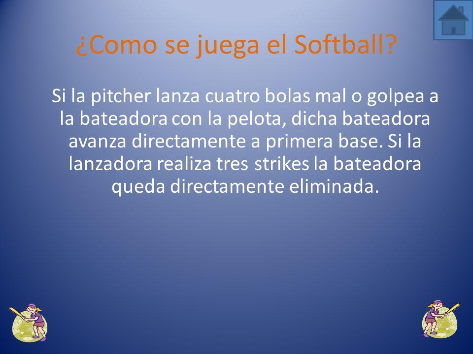 Si ha mandado la bola lejos puede seguir corriendo hacia segunda base, tercera e incluso hasta la home.