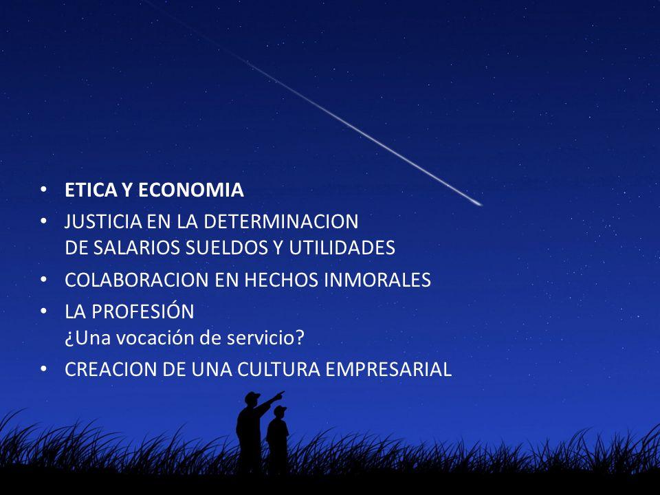 ETICA Y ECONOMIA CONFLICTO O ARMONIA Incorporar la ética a las decisiones económicas diarias es fundamental Incorporar la ética a las decisiones diarias de ahorros e inversiones
