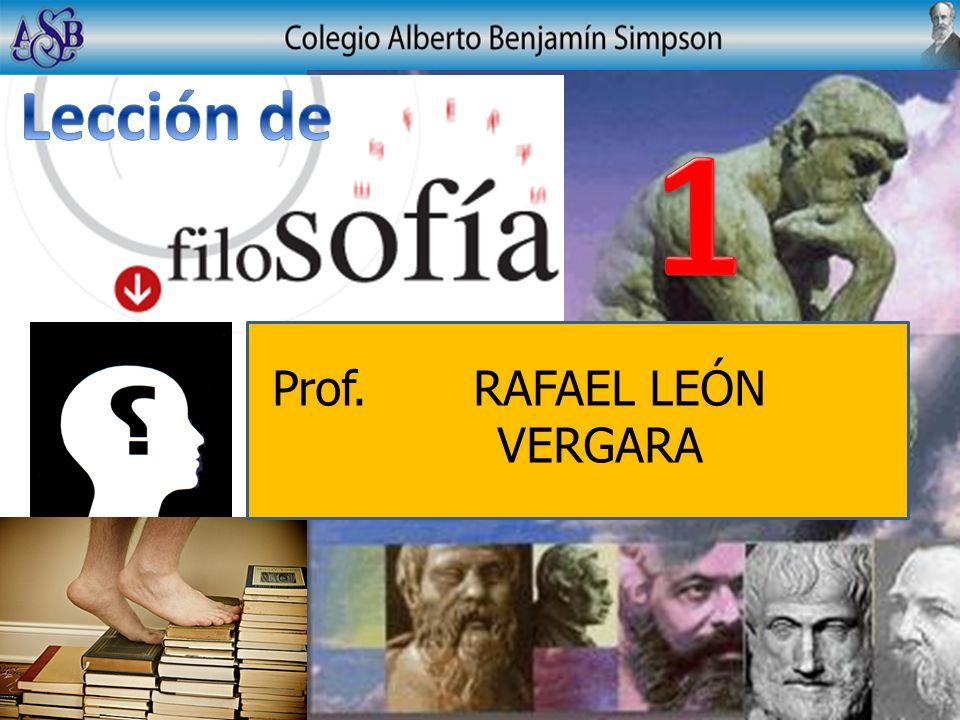 Prof. RAFAEL LEÓN VERGARA