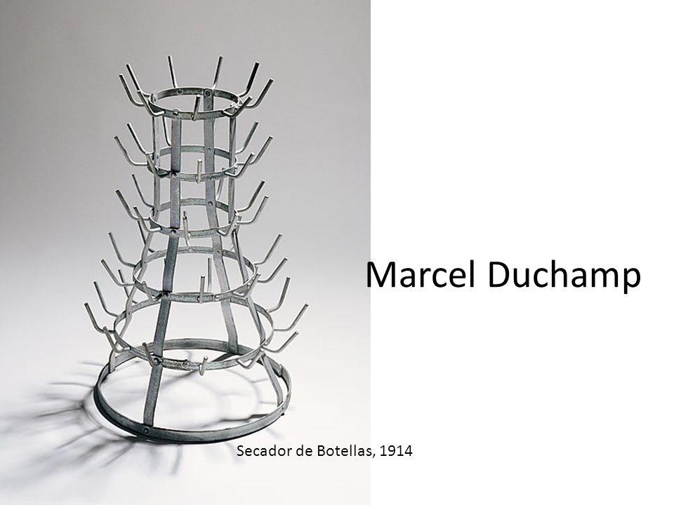 Marcel Duchamp Secador de Botellas, 1914