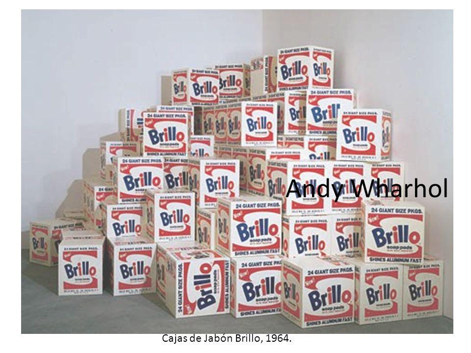Andy Wharhol Cajas de Jabón Brillo, 1964.