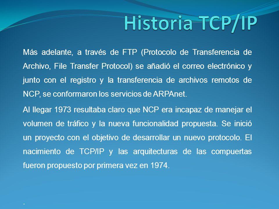 Utilerías TCP/IP RCP (Copia Remota) Copia remota permite al usuario copie un archivo de un anfitrión a otro.