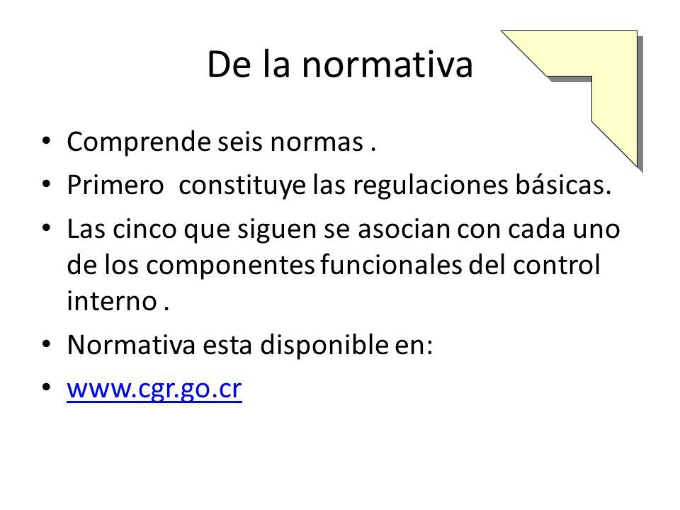I Capítulo Normas generales Sistema de control interno ( SCI) Objetivos SCI Características del SCI Responsabilidad del jerarca y los titulares subordinados sobre el SCI Responsabilidad de los funcionarios sobre el SCI.