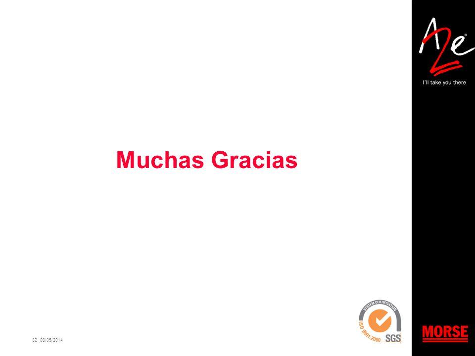32 08/05/2014 Muchas Gracias