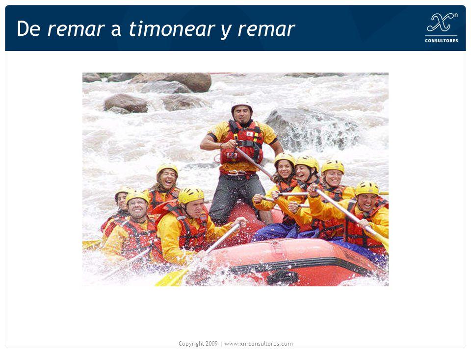 De remar a timonear y remar Copyright 2009 | www.xn-consultores.com