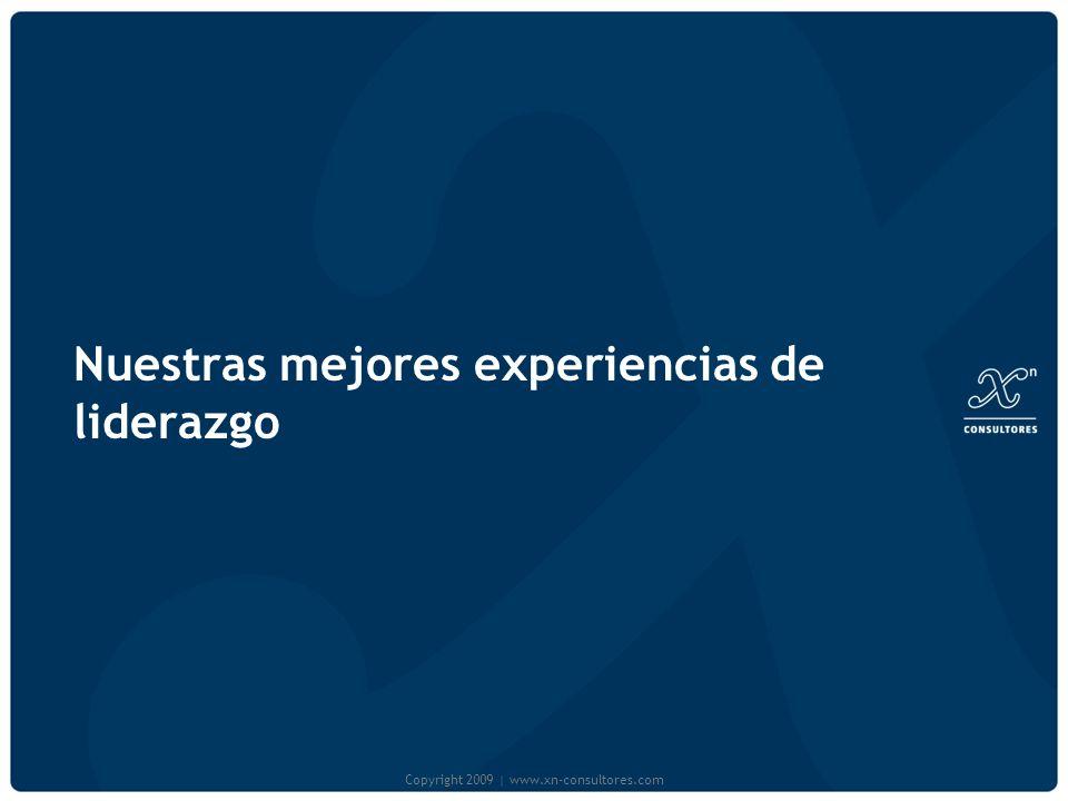 Nuestras mejores experiencias de liderazgo Copyright 2009 | www.xn-consultores.com