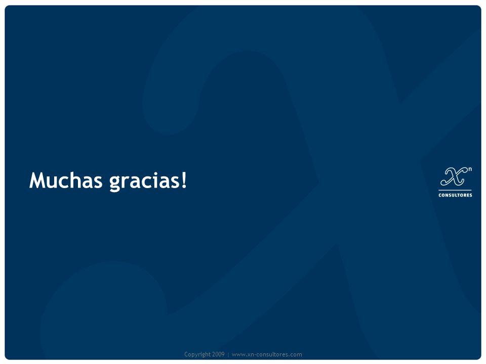 Muchas gracias! Copyright 2009 | www.xn-consultores.com
