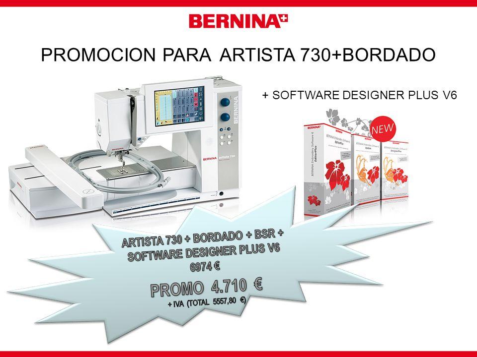 OTRAS PROMOCIONES EN LA WEB: http://es.bernina.com seccion ofertas y promociones Informate en tu distribuidor BERNINA o llamando al 972 405 503 BERNINA Spain - e-maile-mail
