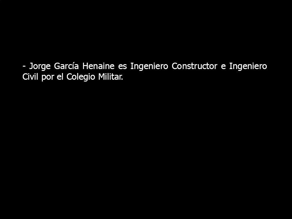 El Lunes 17 de Junio de 2008, el militar retirado Jorge García Henaine tuvo una destacada intervención en el 11vo. Foro de Debate sobre las iniciativa