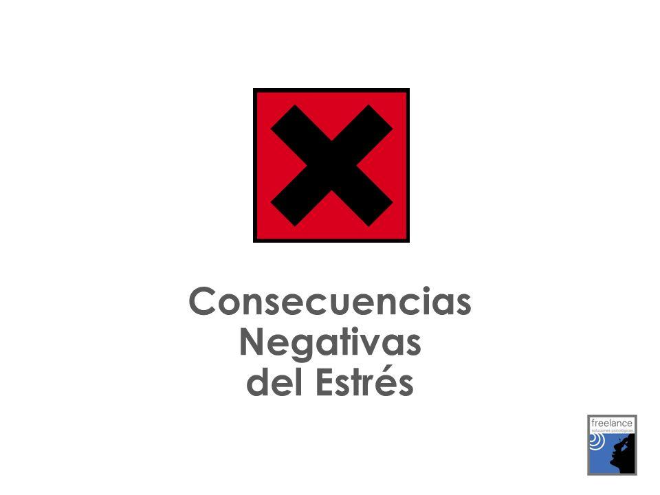 Consecuencias Negativas del Estrés