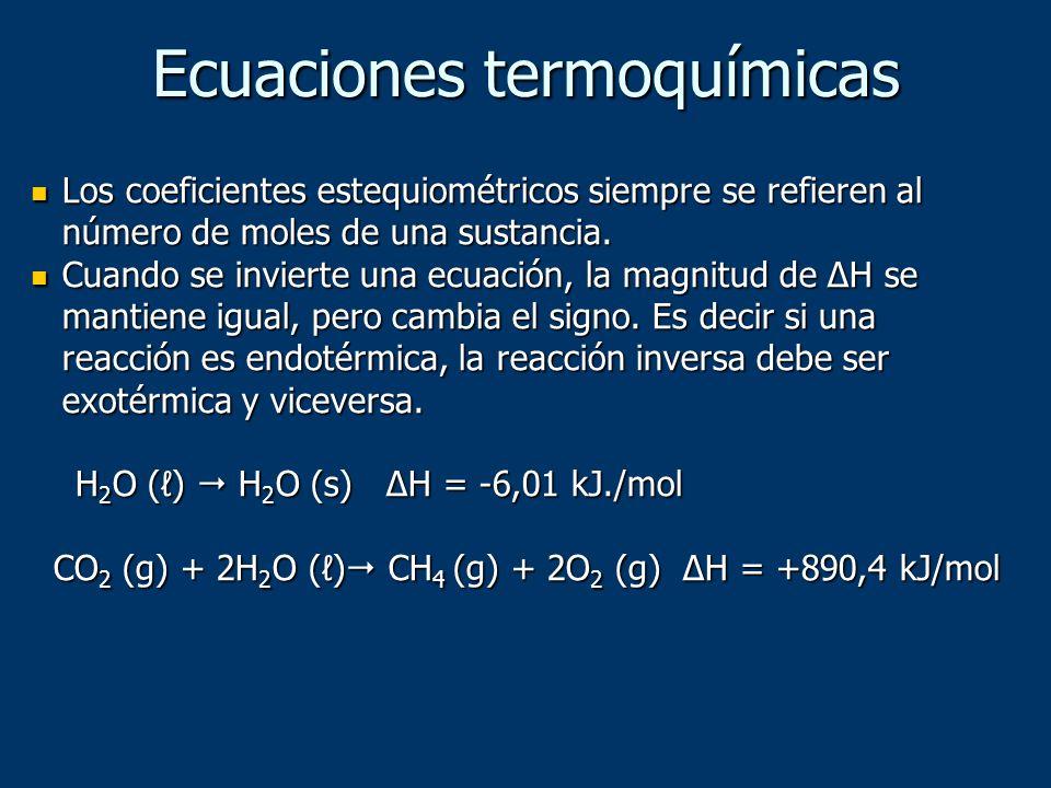 Los coeficientes estequiométricos siempre se refieren al número de moles de una sustancia. Los coeficientes estequiométricos siempre se refieren al nú