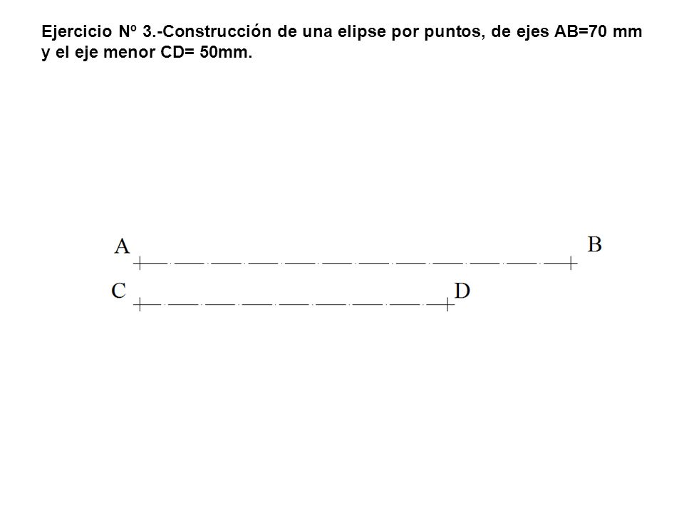 4.- La paralela por 7 y el rayo 7V se cortan en R que resulta ser un punto de la parábola.