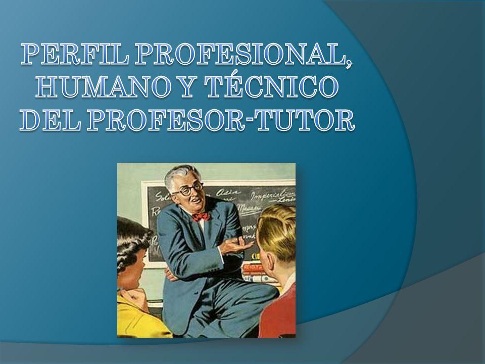 ¿Crees que es posible hablar de la tutoría y de todo lo que ella significa, sin hacer referencia a lo que expresa la figura pedagógica del profesor-tutor.
