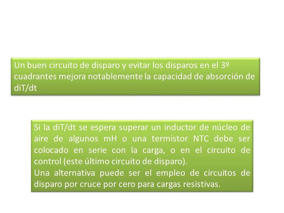 Métodos de Montaje para triacs Para cargas pequeñas o de corriente de muy corta duración (es decir menos de 1 segundo), podría ser posible operar el triac en el aire libre.