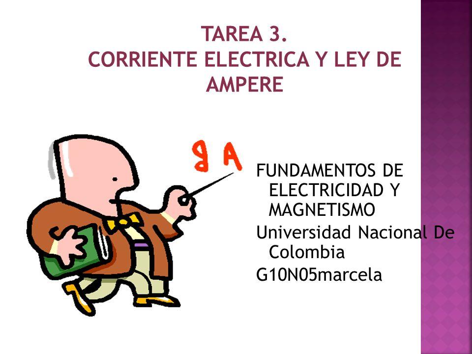El amperio es la unidad de intensidad de corriente eléctrica.