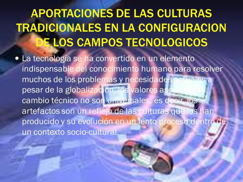 Los artefactos y procesos como punto de partida para nuevas innovaciones de productos y procesos Las herramientas,las maquinas, la forma de trabajarla